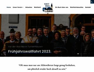 maennerverein-tuntenhausen.de screenshot