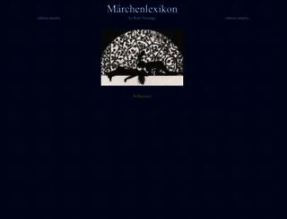 maerchenlexikon.de screenshot