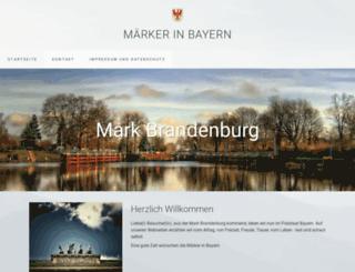 maerker-in-bayern.de screenshot