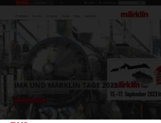 maerklin.de screenshot