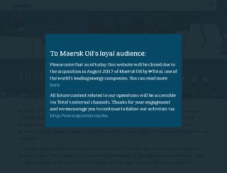 maerskoil.com screenshot