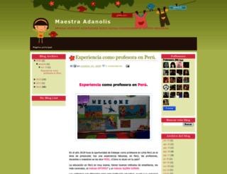 maestraadanolis.blogspot.com screenshot