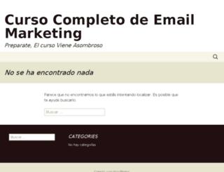 maestriaenemailmarketing.com screenshot