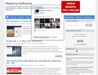 maestro-software.blogspot.com screenshot