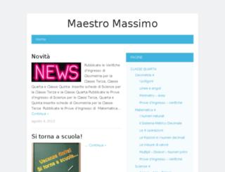 maestromassimo.altervista.org screenshot