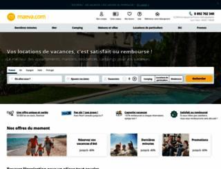 maeva.com screenshot