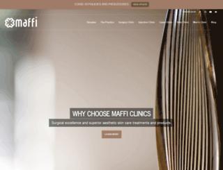 maffiplasticsurgery.com screenshot