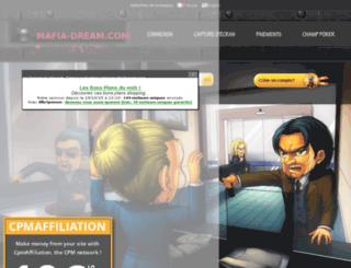 mafia-dream.com screenshot