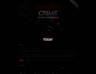 mafiacrime.org screenshot