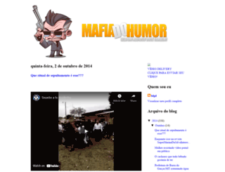 mafiadohummor.blogspot.com.br screenshot