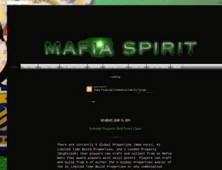 mafiaspirit.blogspot.com screenshot