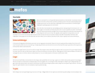 mafos.no screenshot