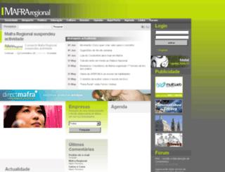 mafraregional.pt screenshot