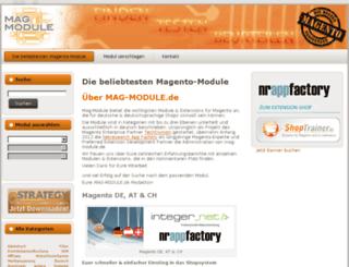 mag-module.de screenshot