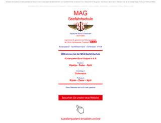 mag-seefahrtschule.com screenshot