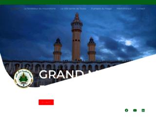 magal-touba.org screenshot