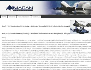 maganaerospace.com screenshot