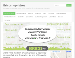 magasin-bricolage-istres-bouches-du-rhone.fr screenshot