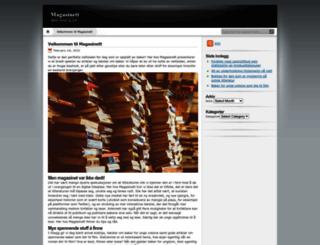 magasinett.info screenshot