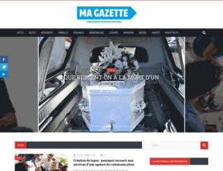 magazette.fr screenshot
