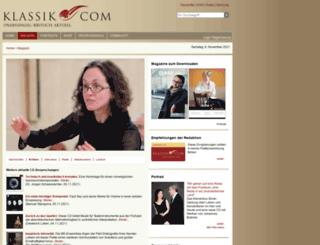 magazin.klassik.com screenshot