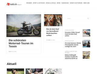 magazin.tutti.ch screenshot