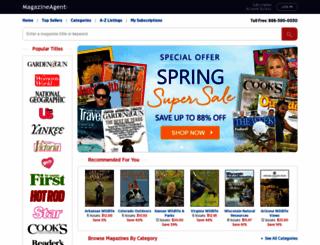 magazine-agent.com screenshot
