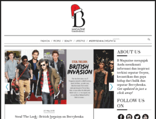 magazine.berrybenka.com screenshot
