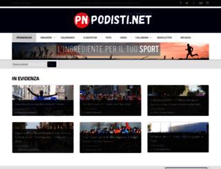 magazine.podisti.it screenshot