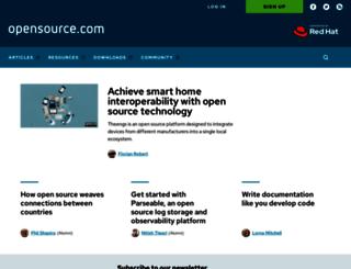 magazine.redhat.com screenshot
