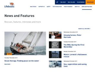 magazine.rnli.org screenshot