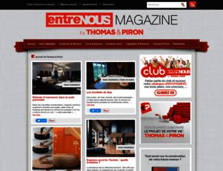 magazine.thomas-piron.eu screenshot