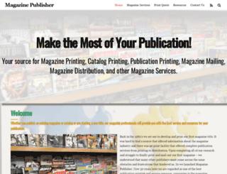 magazinepublisher.com screenshot