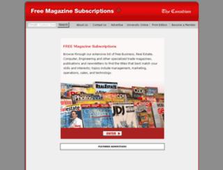 magazines.agoracosmopolitan.com screenshot