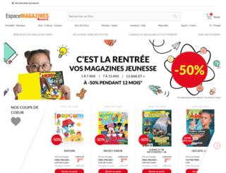 magazines.auchan.fr screenshot