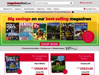 magazinesdirect.com screenshot