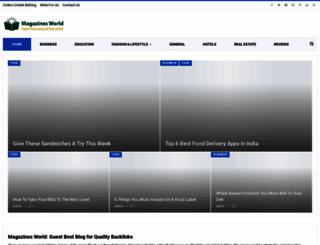 magazinesworld.org screenshot