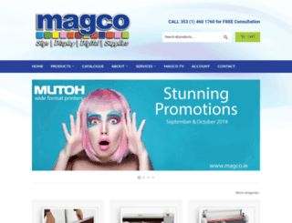 magco.ie screenshot