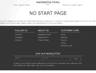 magdalenaduma.com screenshot