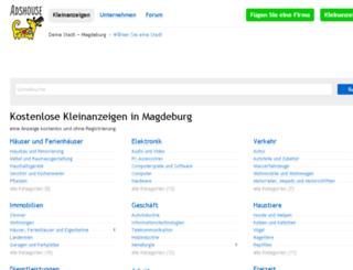 magdeburg.adshouse.de screenshot
