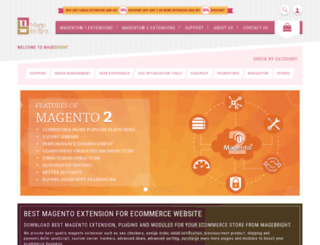 magebright.com screenshot