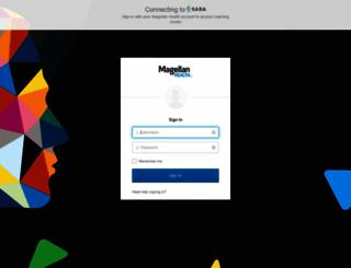 magellanhealth.sabacloud.com screenshot