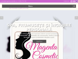 magenta-cosmetic.ro screenshot