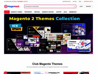 magentech.com screenshot
