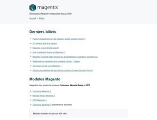 magentix.fr screenshot