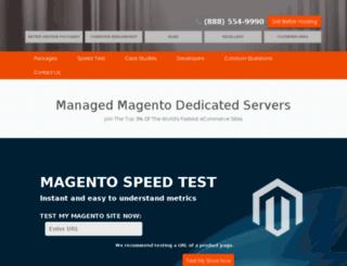 magento.eboundhost.com screenshot
