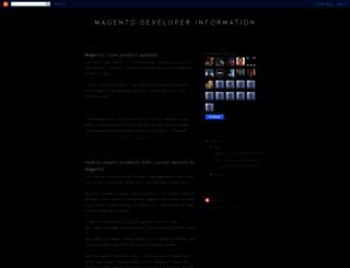 magentodev.blogspot.com screenshot