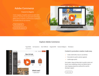 magentoecommerce.com screenshot