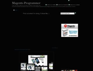 magentoexpert.blogspot.com screenshot