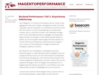 magentoperformance.de screenshot